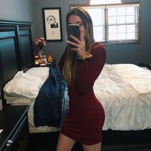 Long sleeve body con
